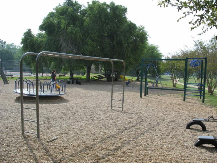 Western Oaks Playground next to Pool